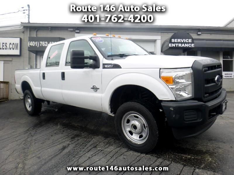 Ford F-350 SD XL Crew Cab 4WD 2014