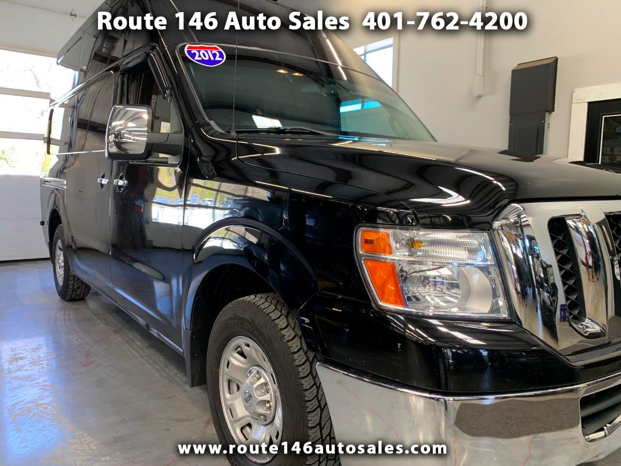 Nissan NV High Roof 2500 V6 SV 2012