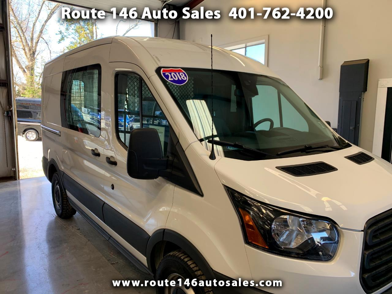 "Ford Transit Van T-150 130"" Med Rf 8600 GVWR Sliding RH Dr 2018"
