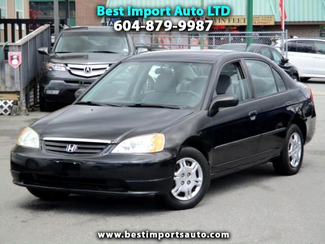 2002 Honda Civic DX Sedan