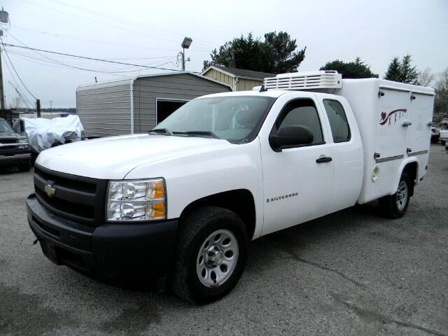 2009 Chevrolet Silverado 1500 Work Truck Ext. Cab Long Box 2WD
