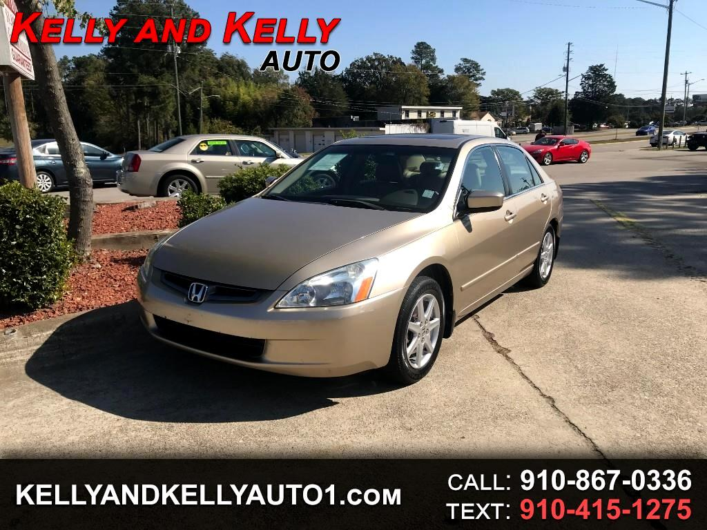 Honda Accord Sdn EX Manual w/Leather/XM 2004
