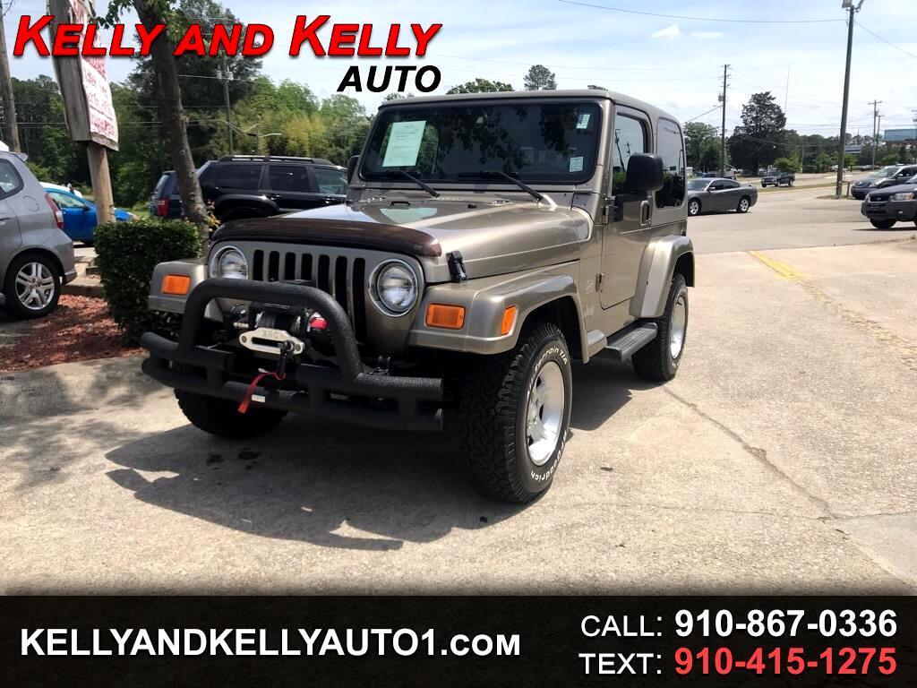 Jeep Wrangler 2dr Sahara 2004