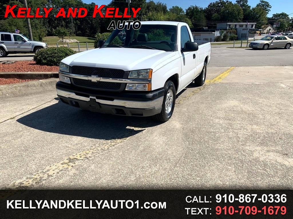 """Chevrolet Silverado 1500 Reg Cab 133.0"""" WB Work Truck 2003"""