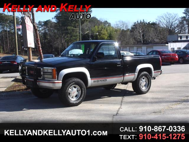 1990 GMC Sierra 1500 Reg. Cab 6.5-ft. Bed 4WD