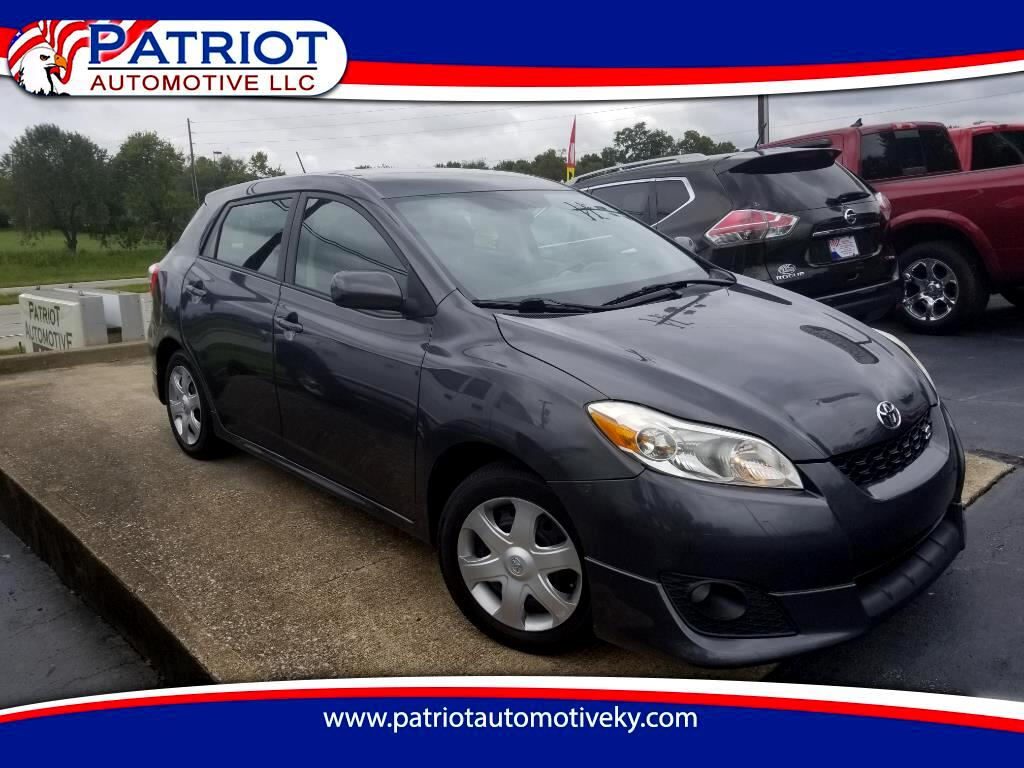 2009 Toyota Matrix 5dr Wgn Man S FWD (Natl)