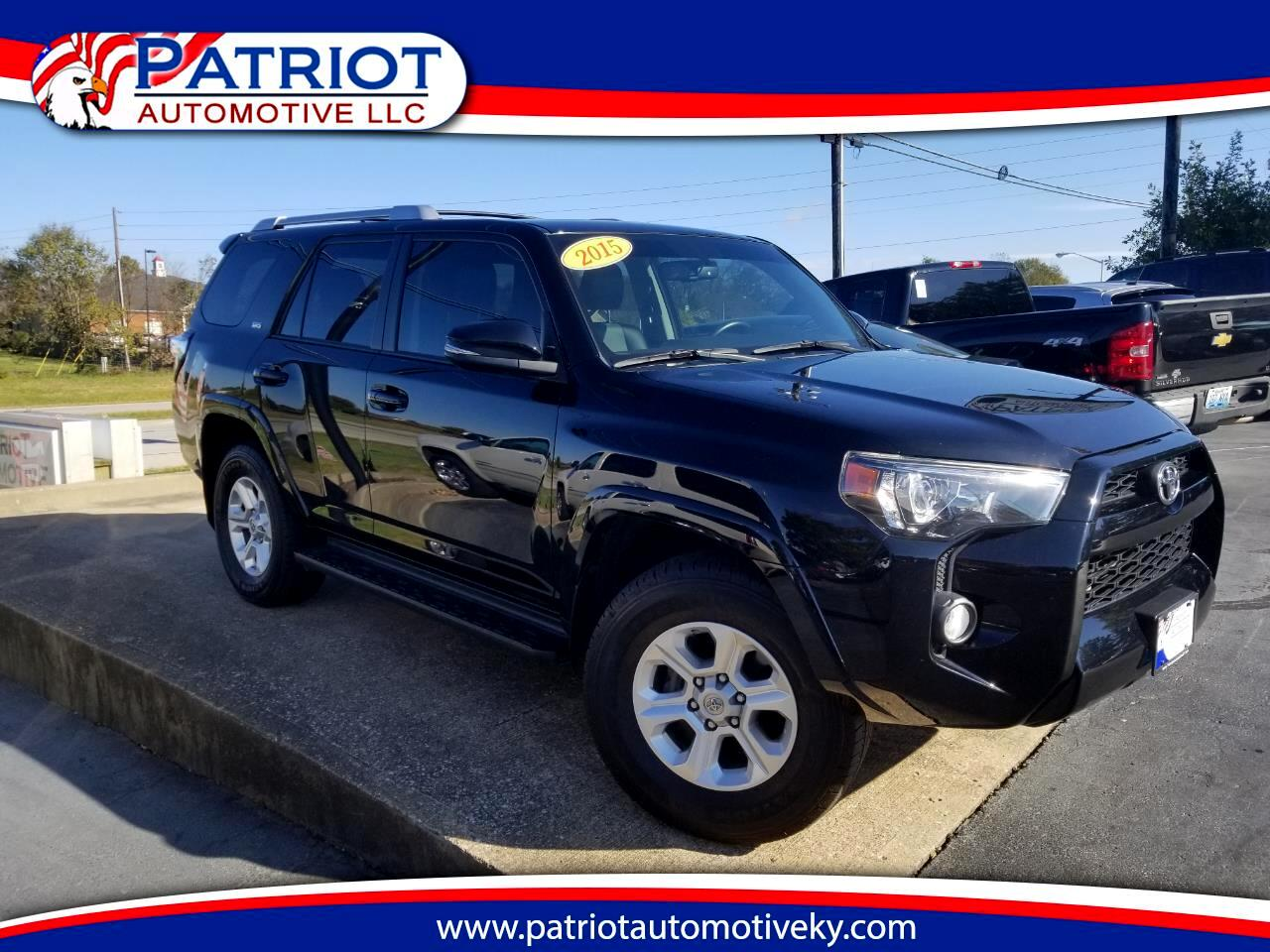 buy here pay here 2015 toyota 4runner 4wd 4dr v6 trail premium natl for sale in georgetown ky. Black Bedroom Furniture Sets. Home Design Ideas