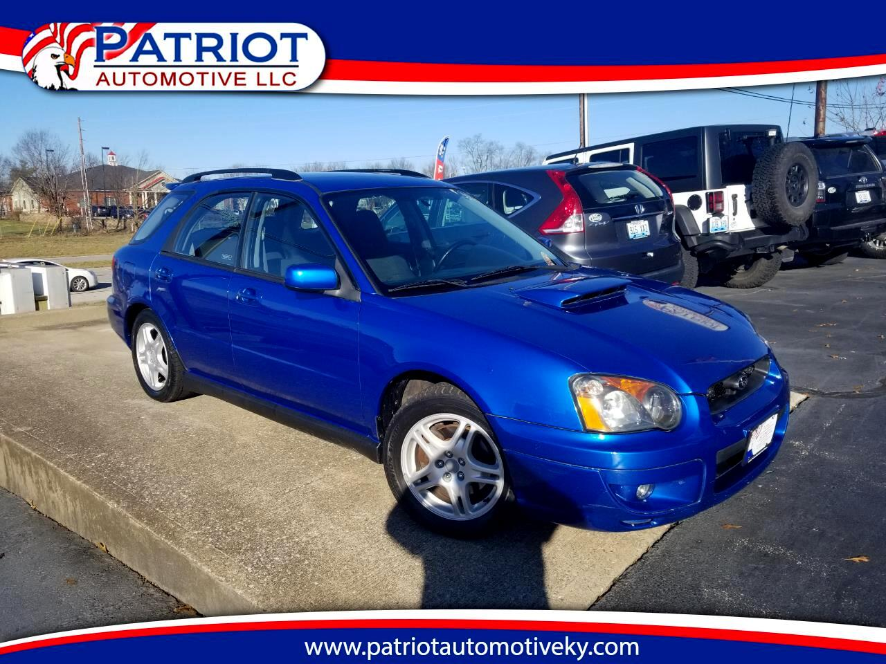 2004 Subaru Impreza Wagon (Natl) 2.0 WRX Sport Auto