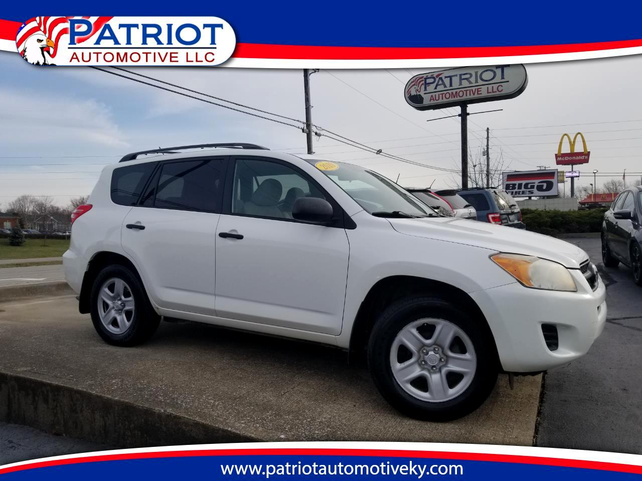 2010 Toyota RAV4 4WD 4dr 4-cyl 4-Spd AT (Natl)