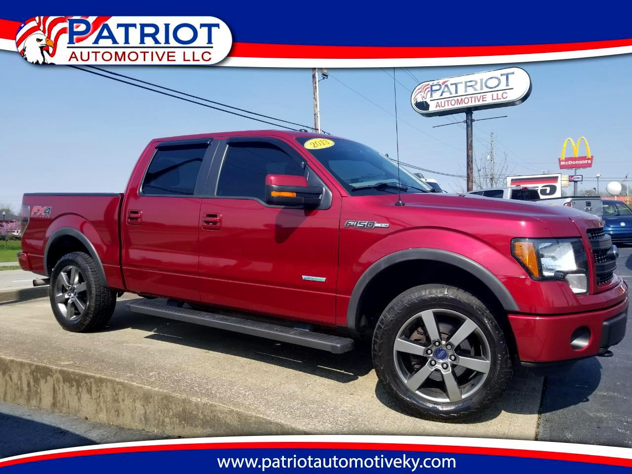 2013 Ford F-150 SuperCrew 145