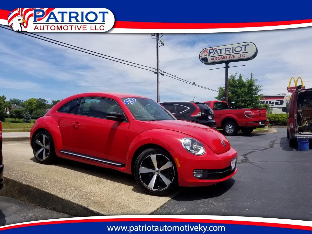 2012 Volkswagen Beetle 2dr Cpe DSG 2.0T Turbo w/Sound/Nav PZEV