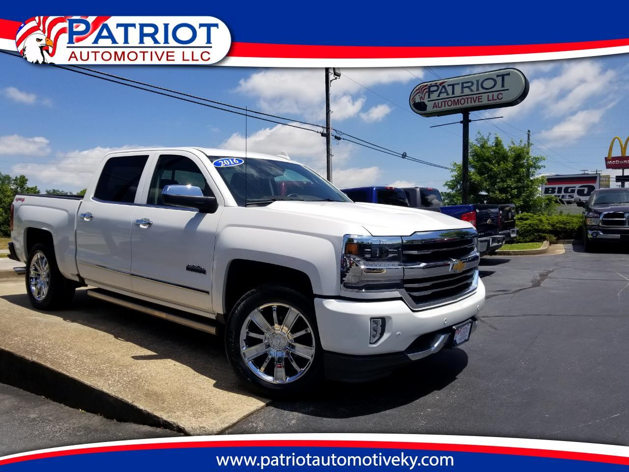 "2016 Chevrolet Silverado 1500 4WD Crew Cab 143.5"" High Country"