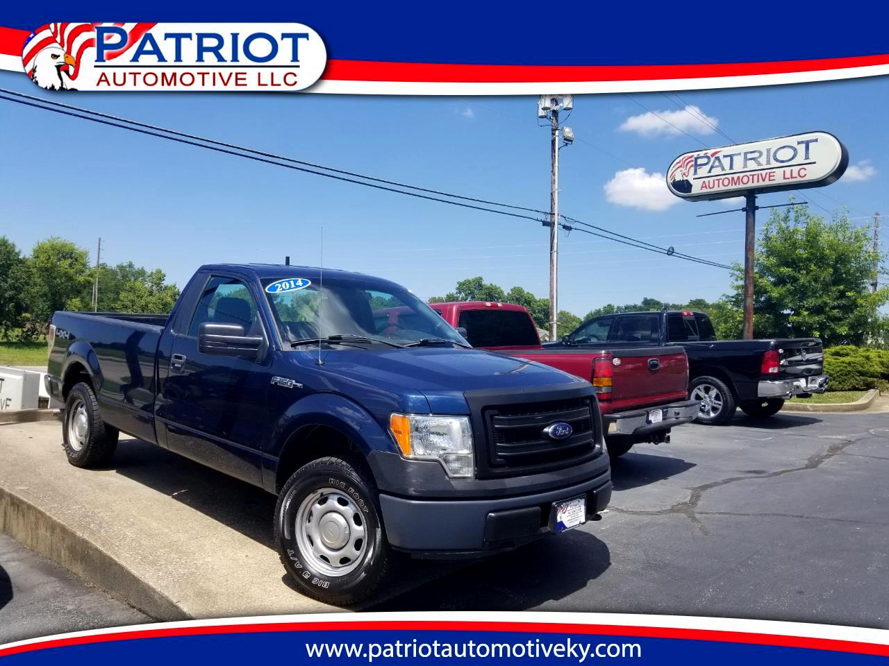 "2014 Ford F-150 4WD Reg Cab 126"" STX Long Bed"