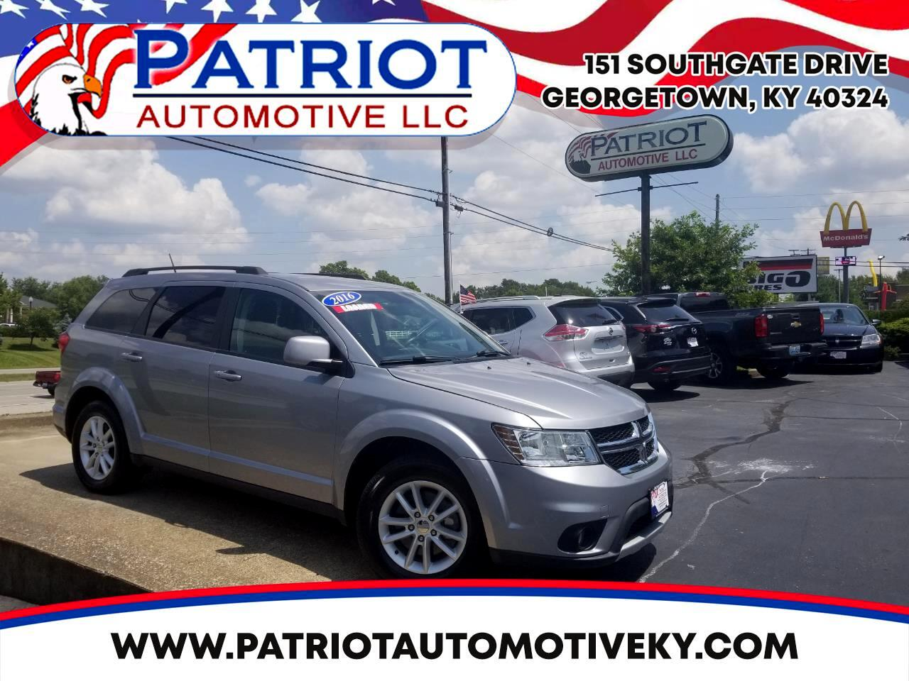 2016 Dodge Journey AWD 4dr SXT