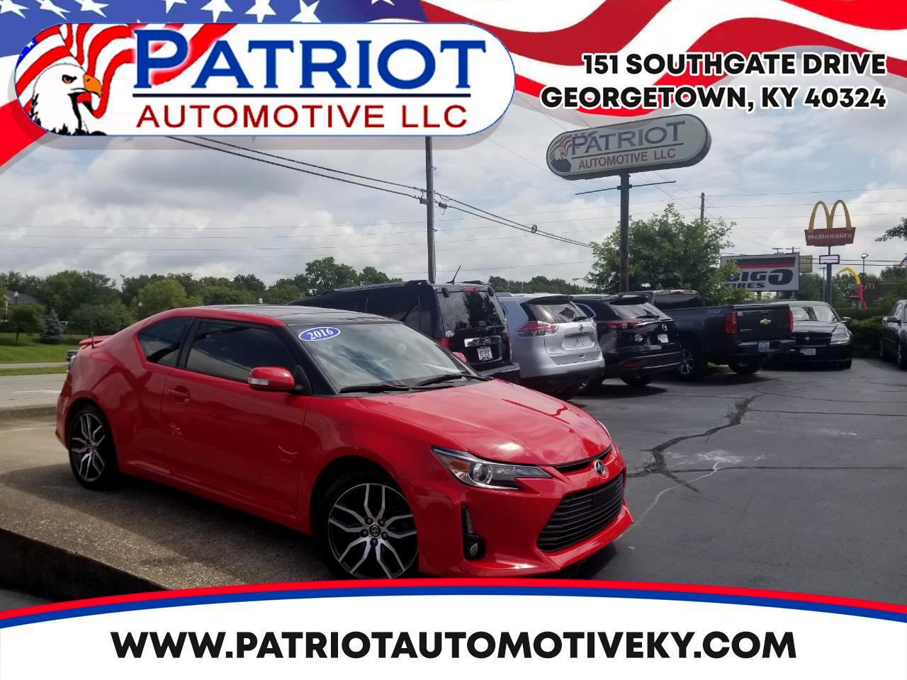 2016 Scion tC 2dr HB Man (Natl)