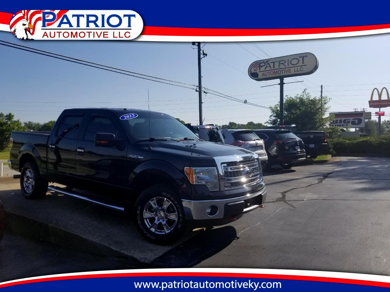 "2013 Ford F-150 4WD SuperCrew 145"" Platinum XLT"