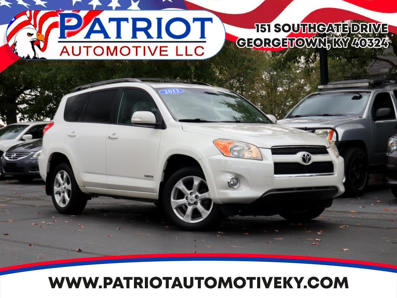 Toyota RAV4 4WD 4dr 4-cyl 4-Spd AT Ltd (Natl) 2011