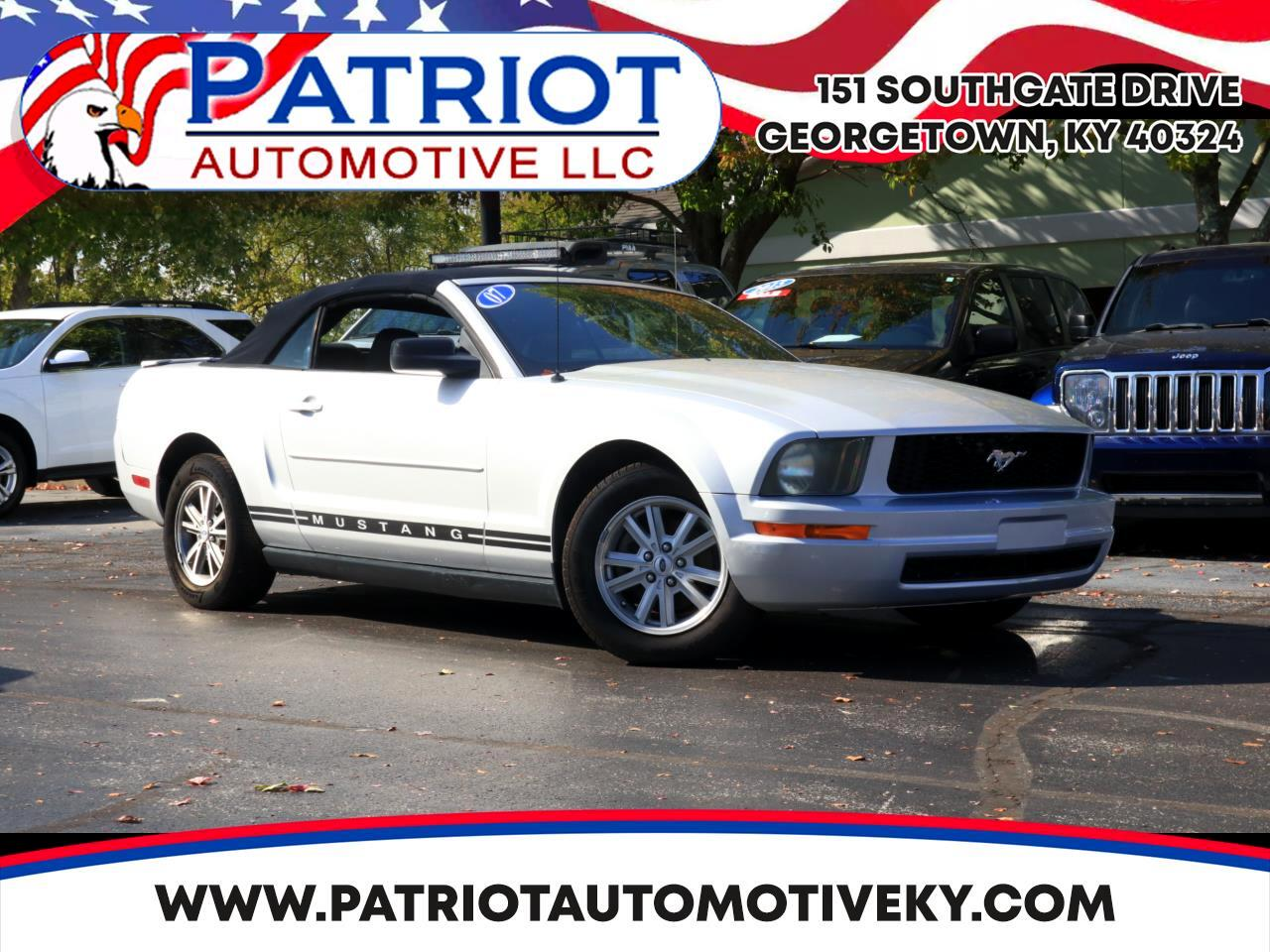 2007 Ford Mustang 2dr Premium Convertible