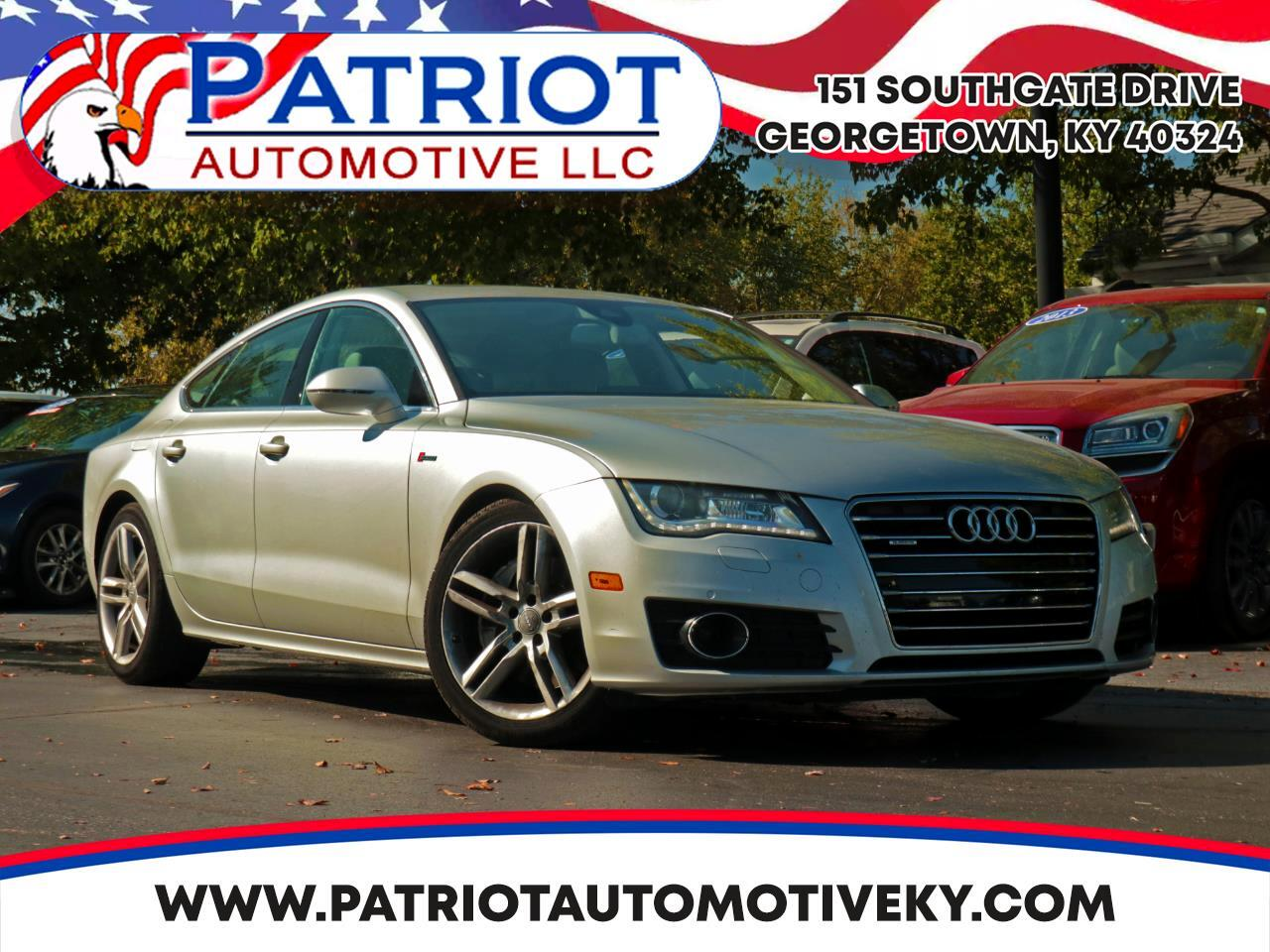 2012 Audi A7 4dr HB qualtro 3.0 Premium Plus AWD Supercharged