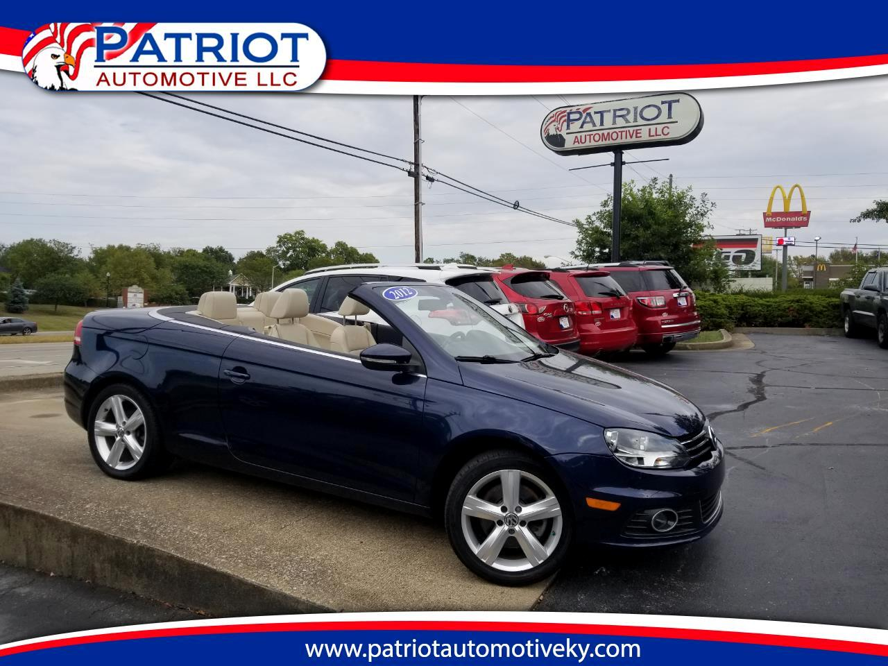 2012 Volkswagen Eos 2dr Convertible Lux SULV