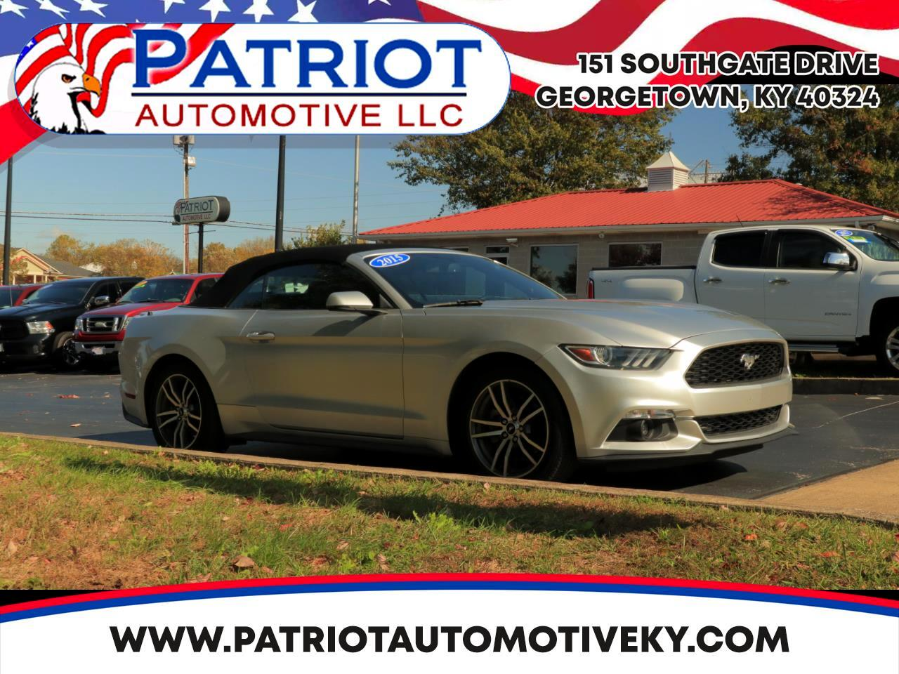 2015 Ford Mustang 2dr Convertible EcoBoost Premium