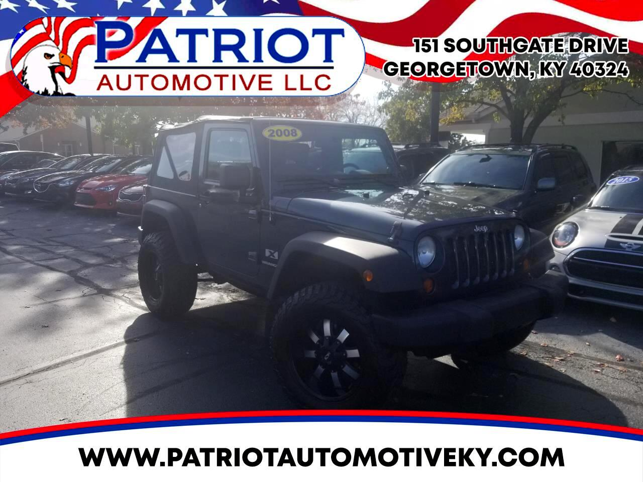 2008 Jeep Wrangler 4WD 2dr X Soft Top