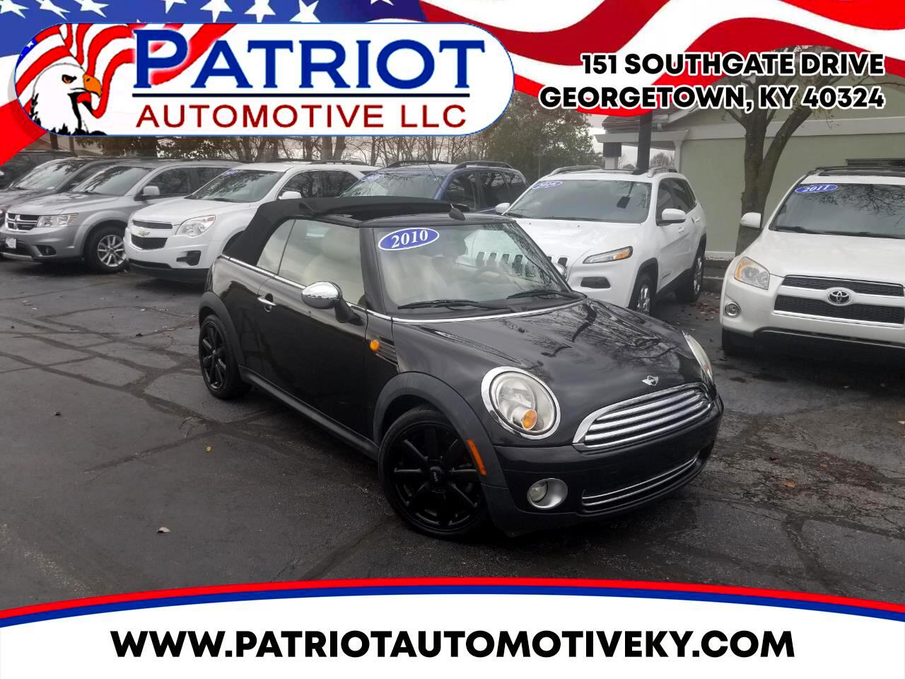 MINI Cooper Convertible 2dr 2010