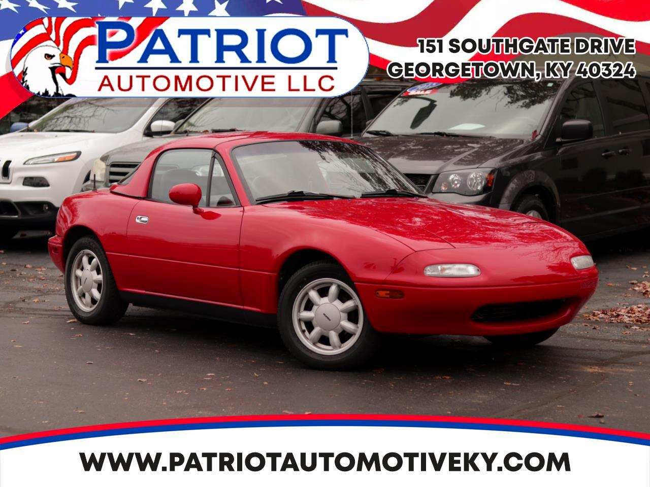 Mazda MX-5 Miata 2dr Coupe Convertible 1990