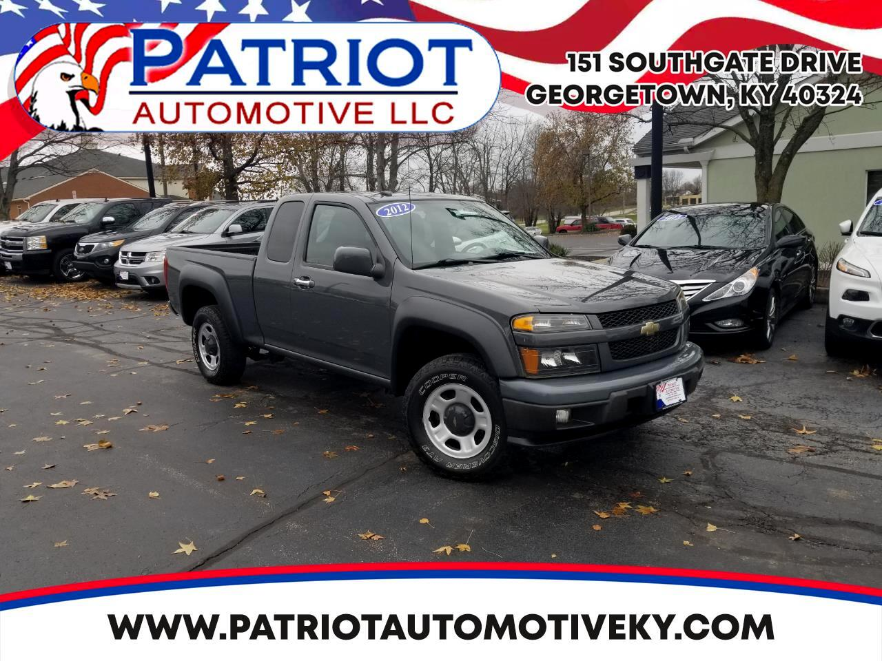 Chevrolet Colorado 4WD Ext Cab Work Truck 2012