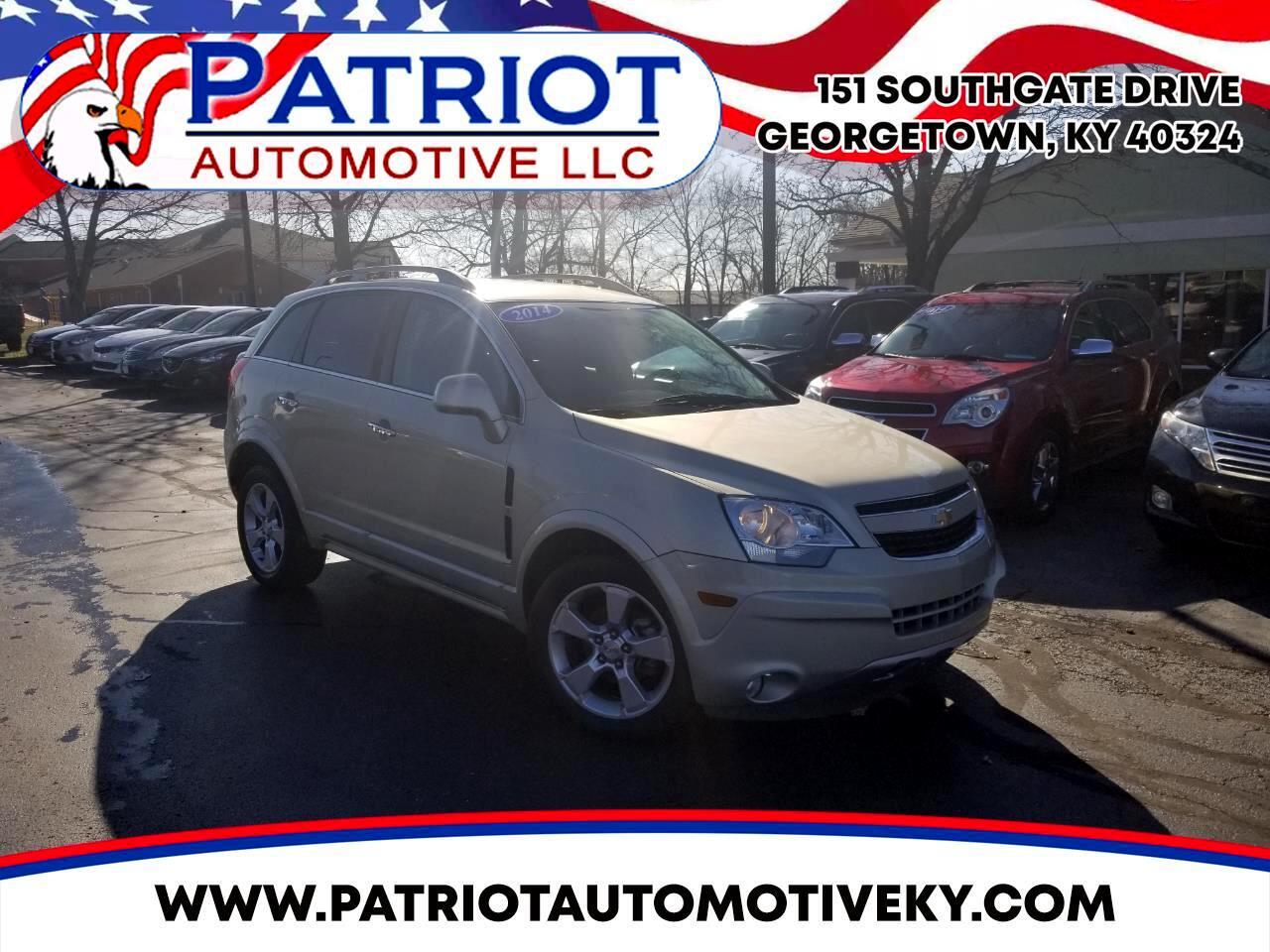 Chevrolet Captiva Sport Fleet FWD 4dr LT 2014
