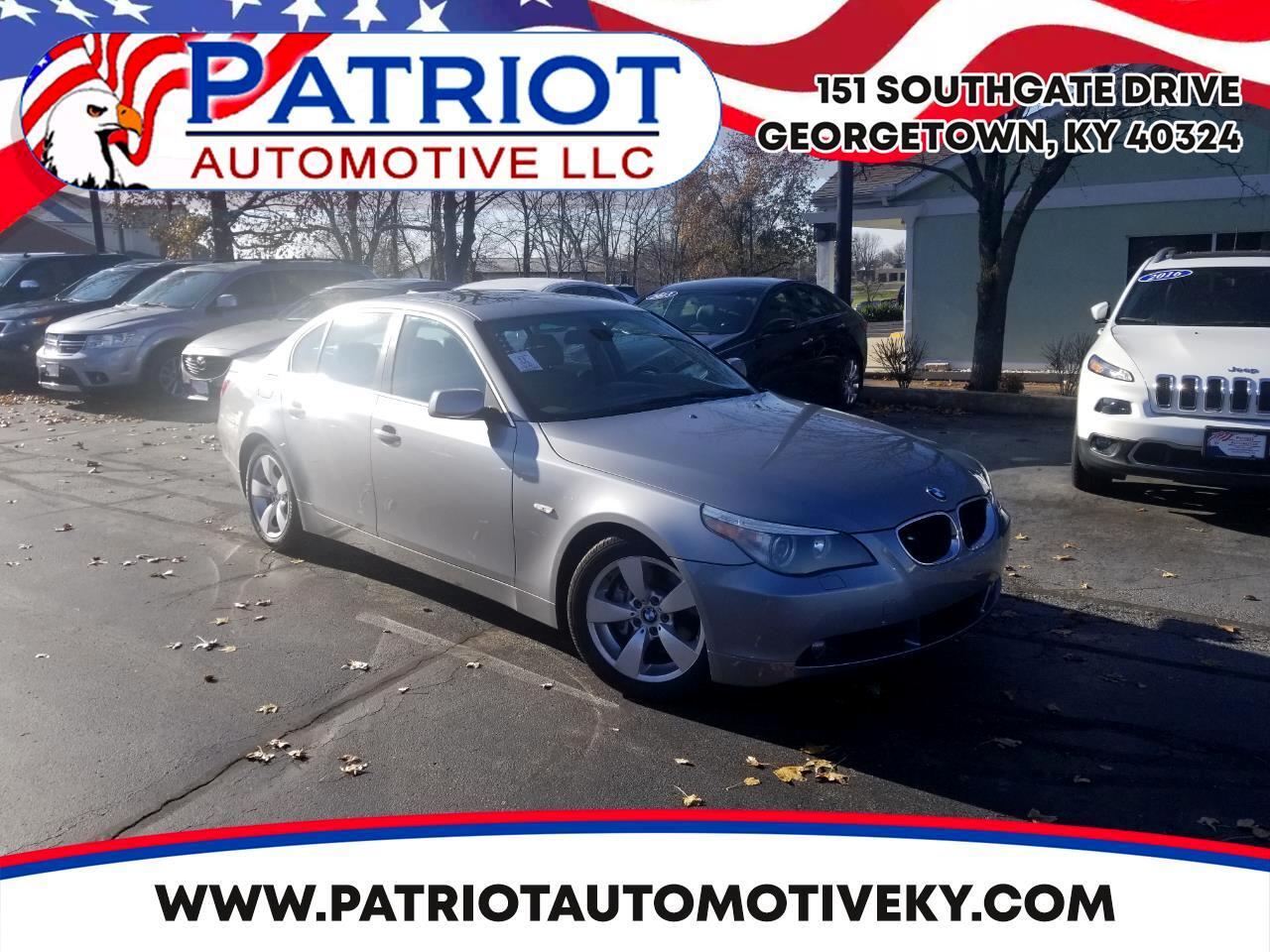 2006 BMW 5 Series 530i 4dr Sdn RWD