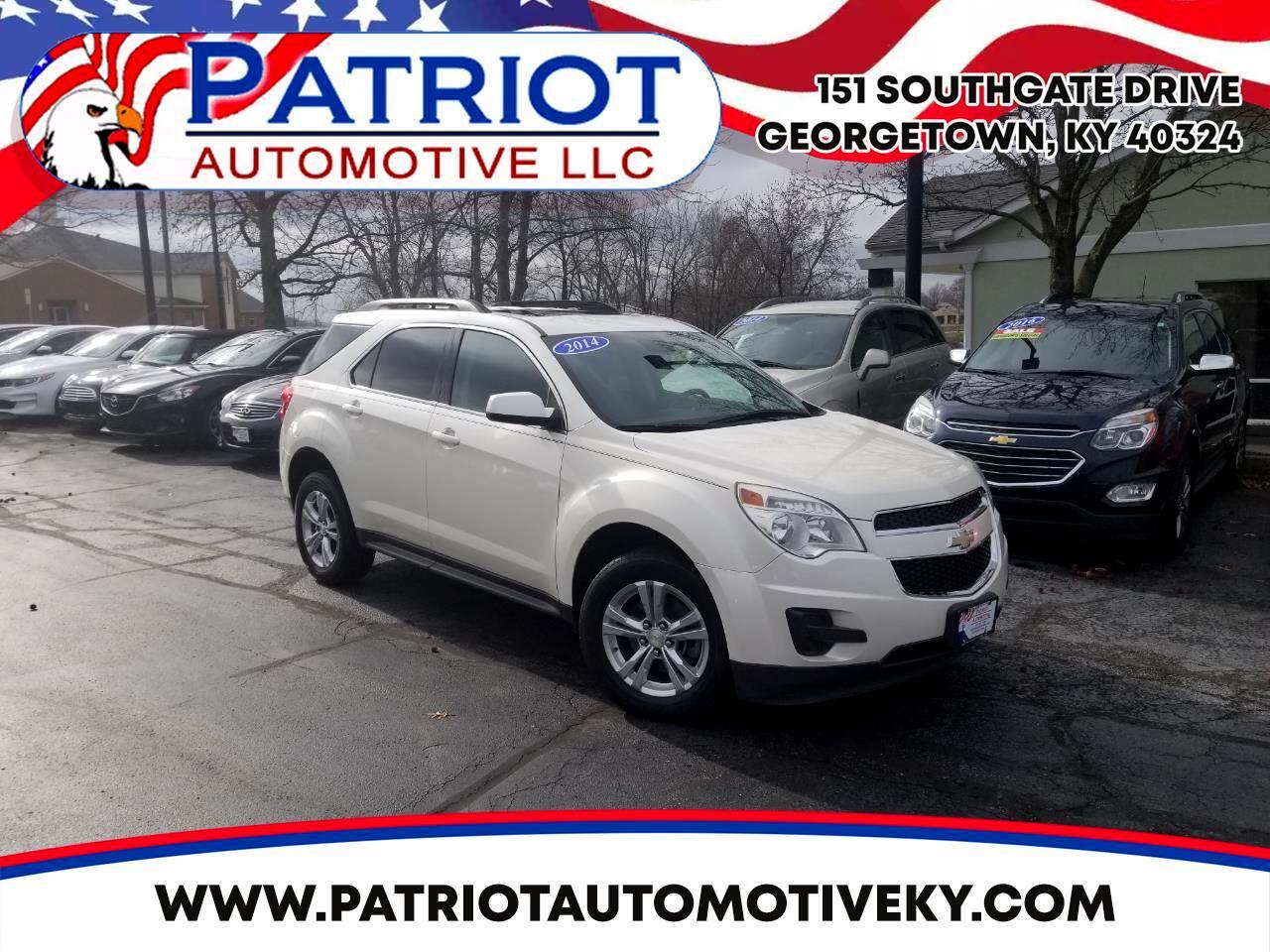 Chevrolet Equinox AWD 4dr LT w/1LT 2014