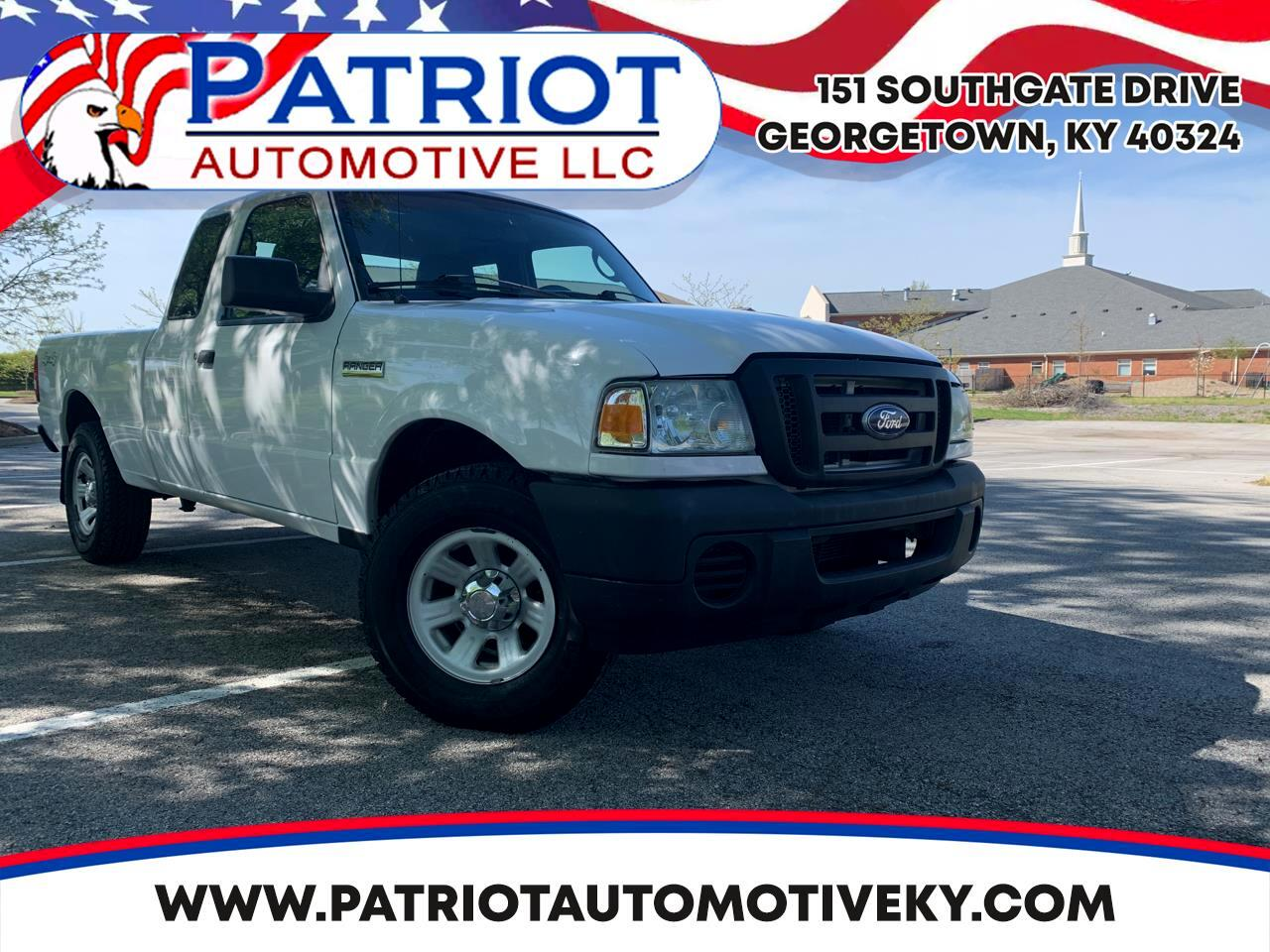 "Ford Ranger 2dr Supercab 126"" WB XL 4WD 2010"