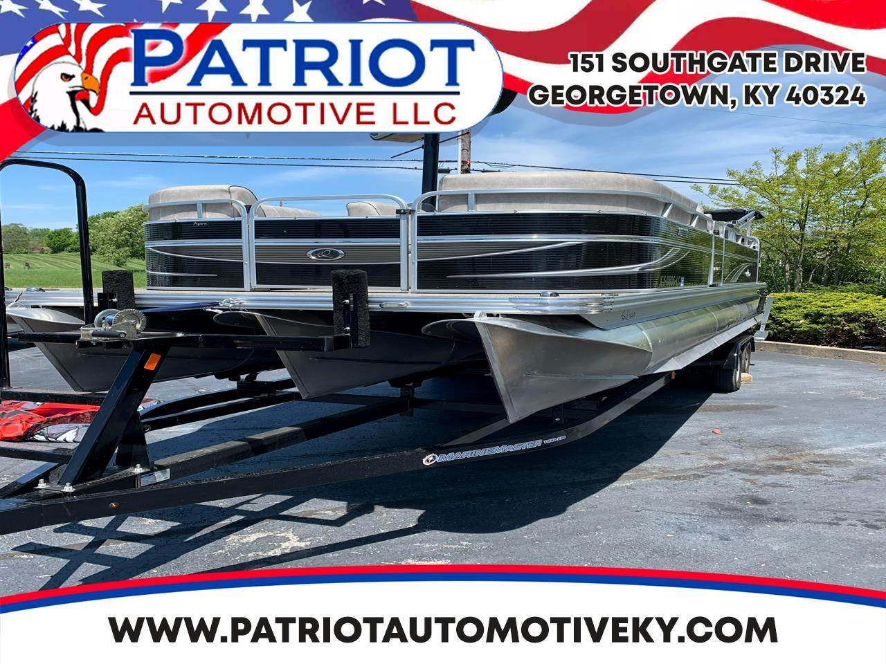 Apex Marine Qwest Pontoon  2018