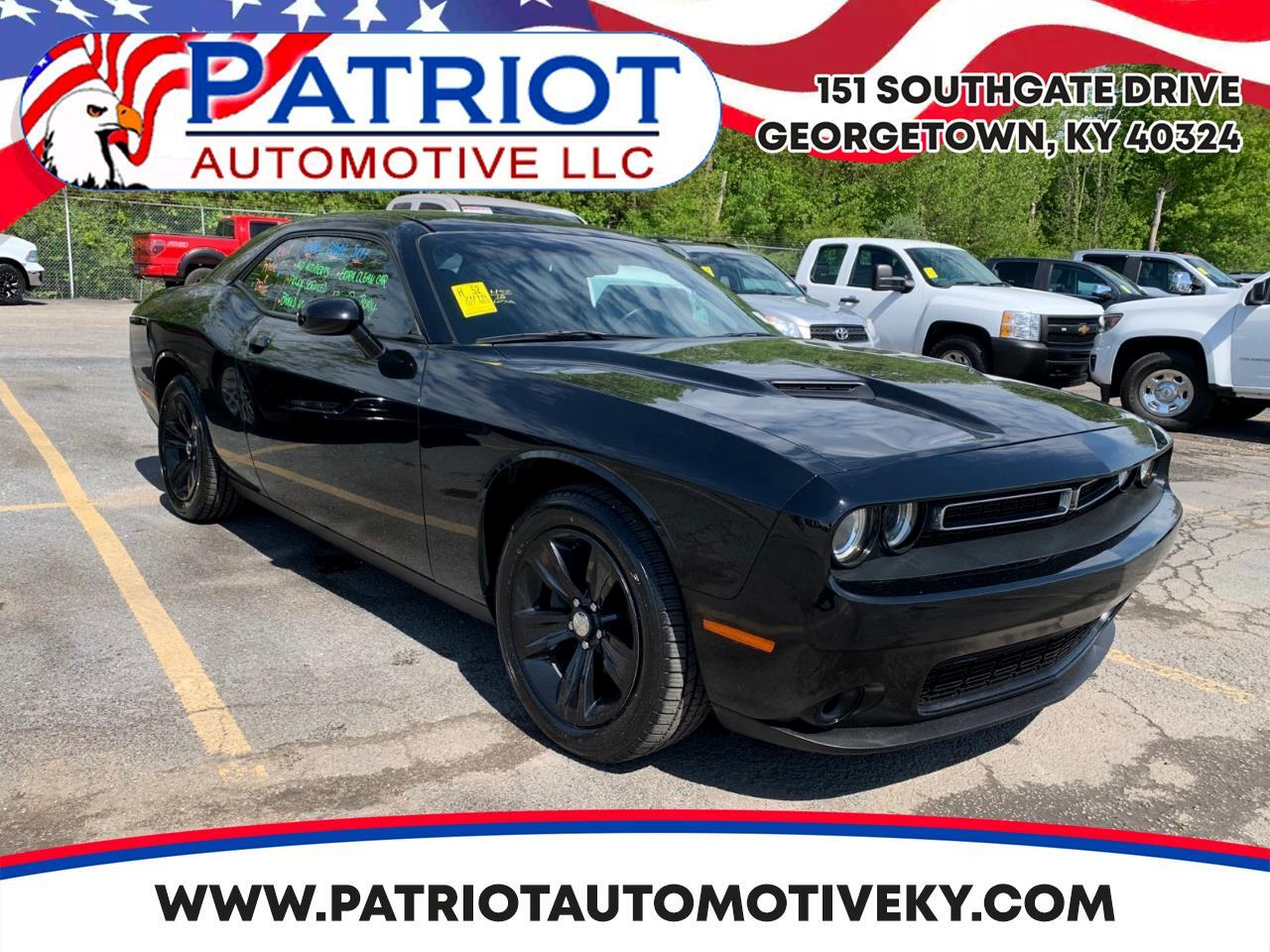 Dodge Challenger 2dr Cpe SXT 2016