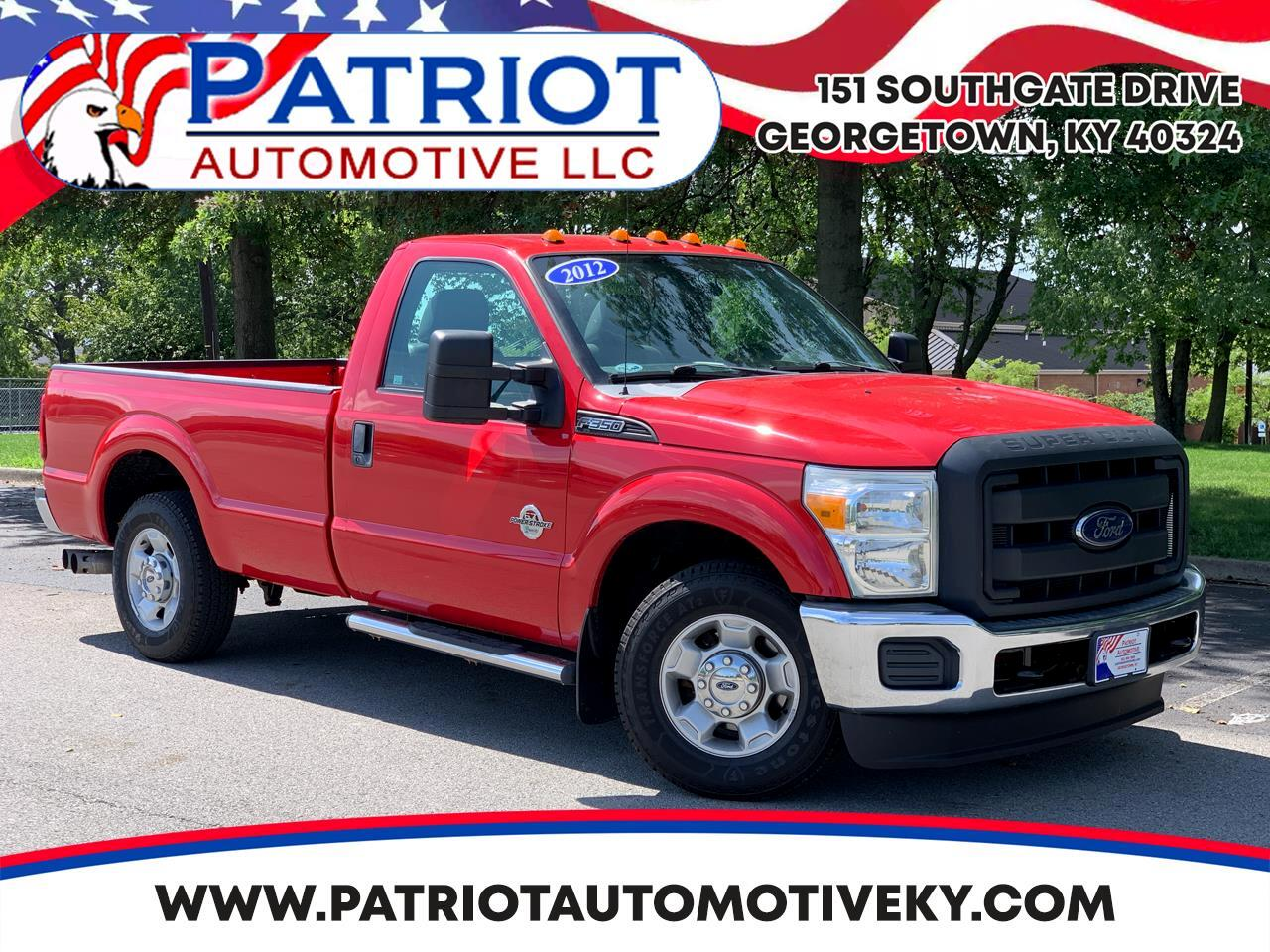 "Ford Super Duty F-350 SRW 2WD Reg Cab 137"" XL 2012"