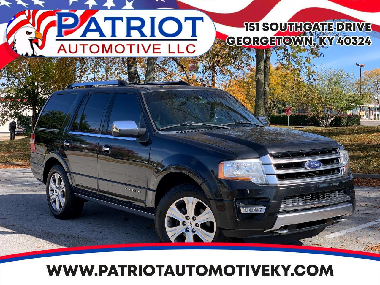 Ford Expedition 4WD 4dr Platinum 2015