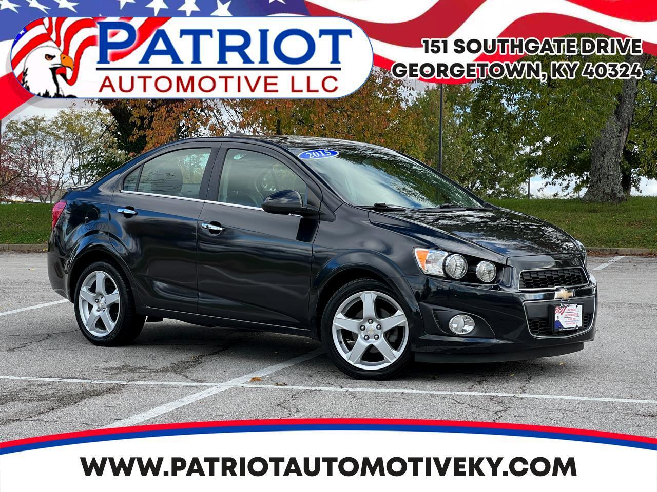 2015 Chevrolet Sonic 4dr Sdn Auto LTZ