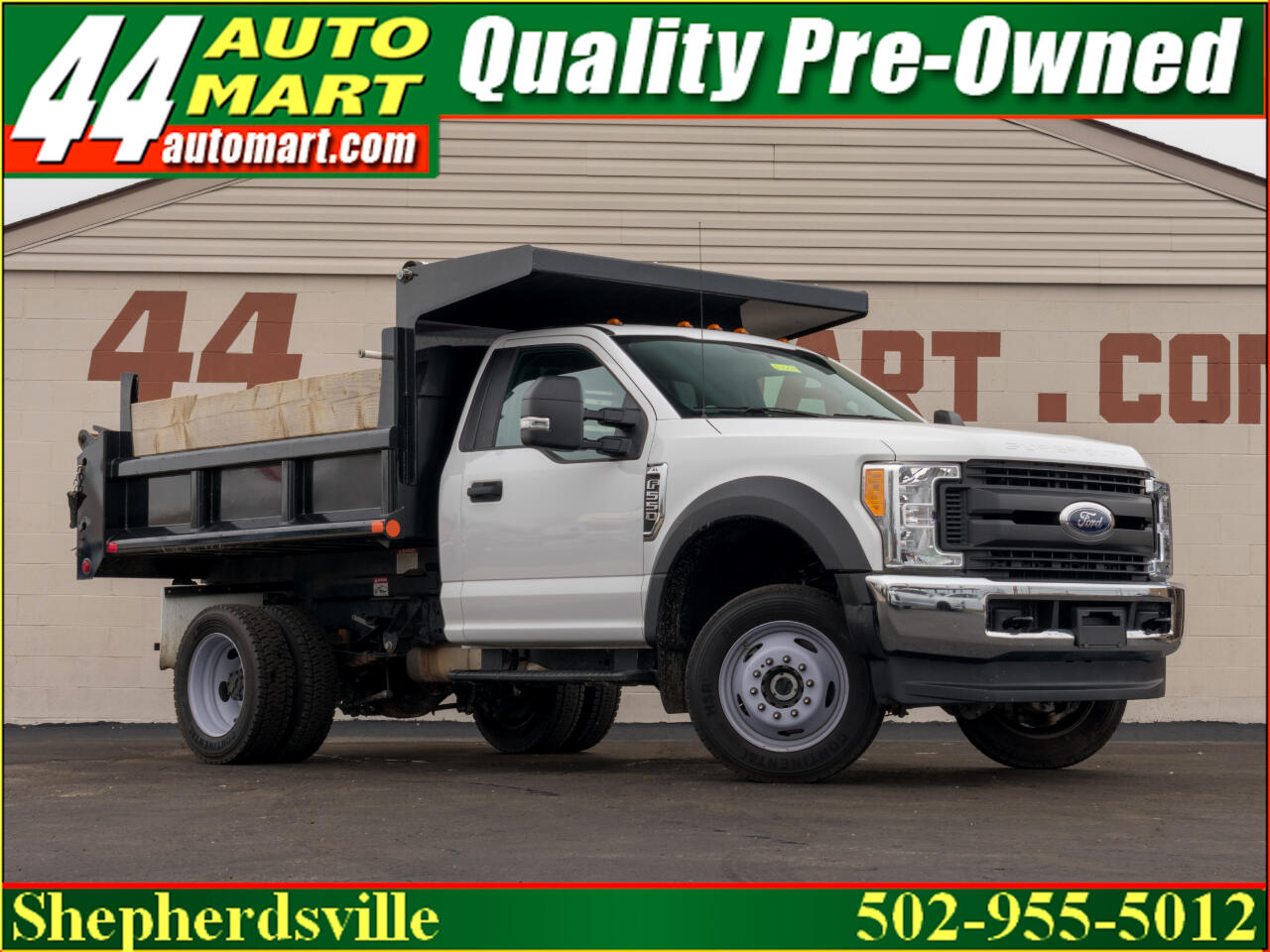 2017 Ford F-550 Regular Cab DRW 4WD