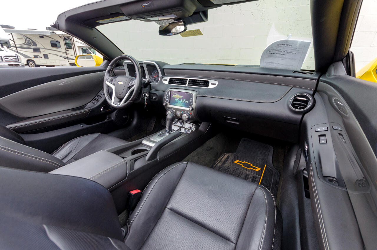 Chevrolet Camaro 2SS Convertible 2015