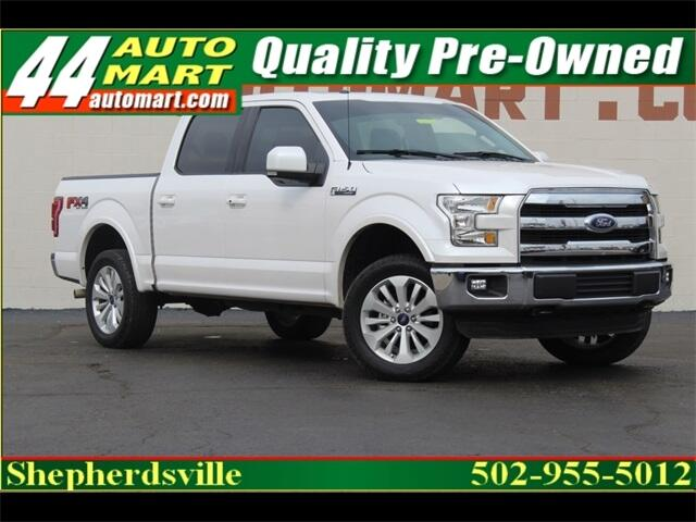 Ford F-150 Lariat SuperCrew 4WD 2016
