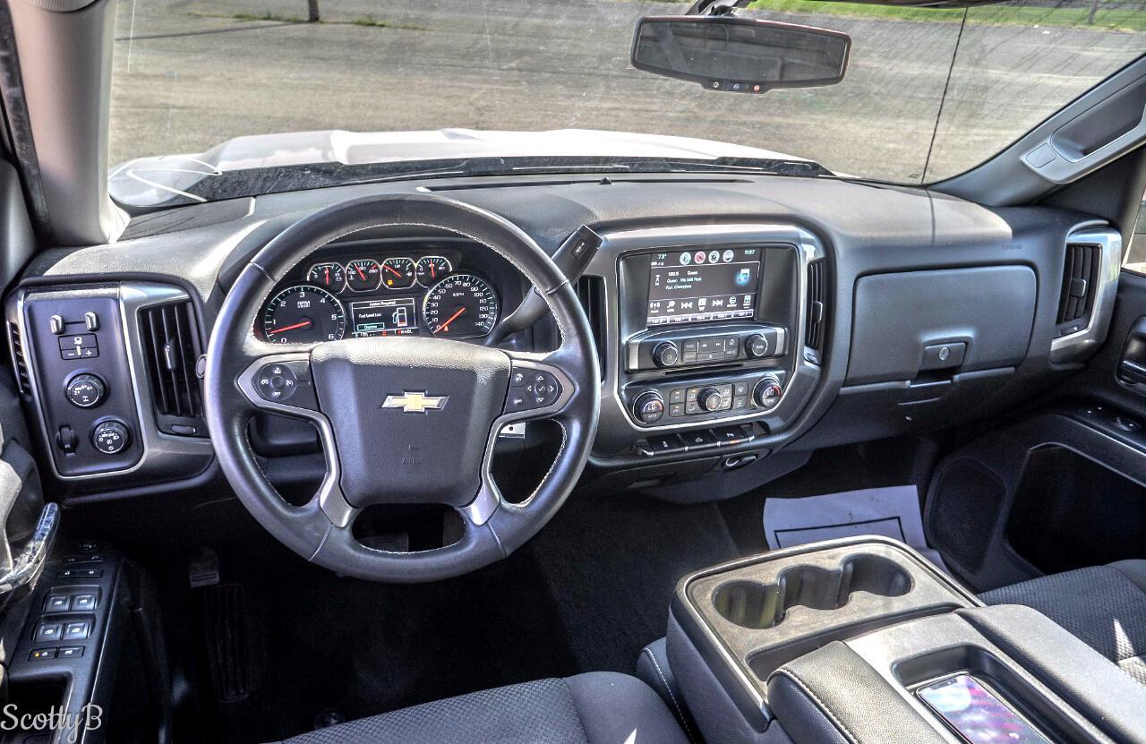 Chevrolet Silverado 1500 LT Crew Cab 4WD 2017
