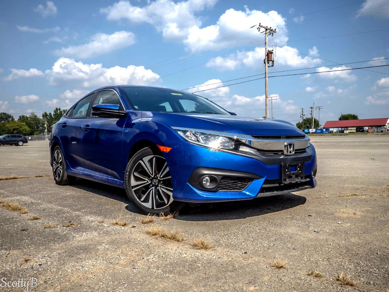 Honda Civic EX-TL Honda Sensing Sedan CVT 2017