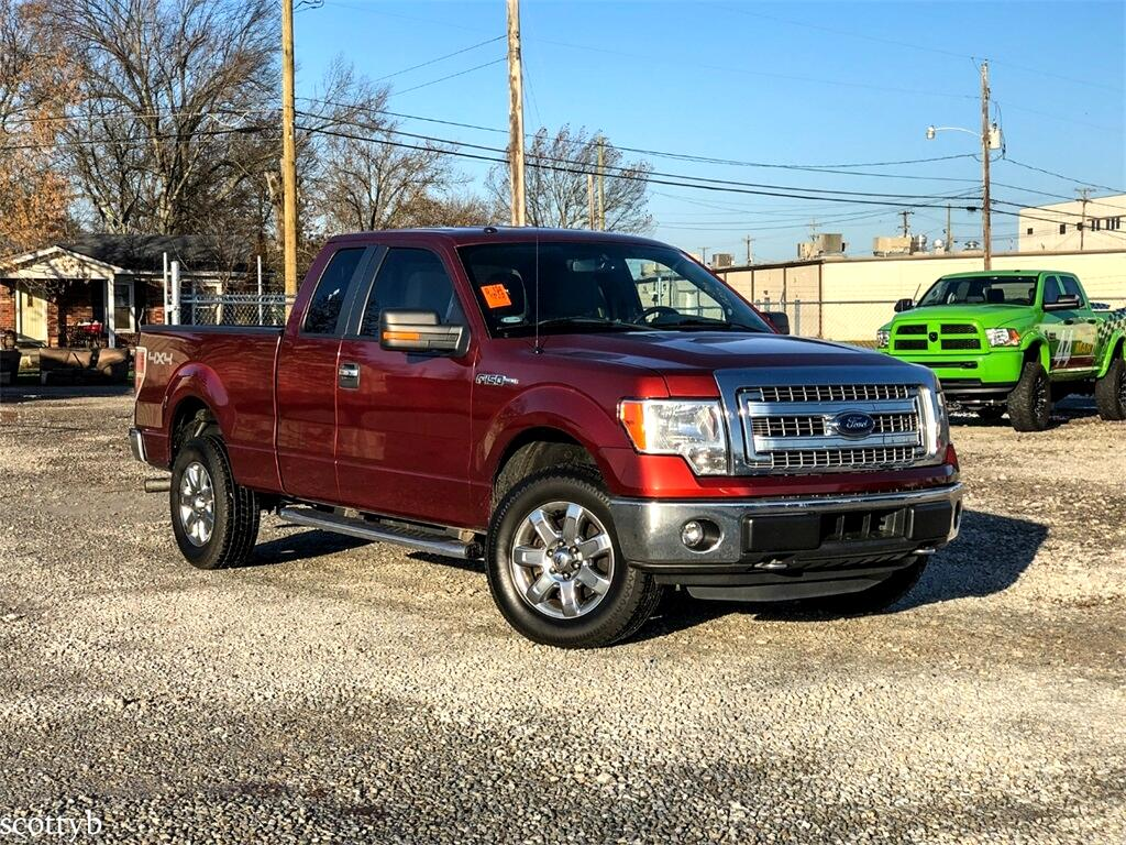 Ford F-150 XLT SuperCab 8-ft. Bed 4WD 2014