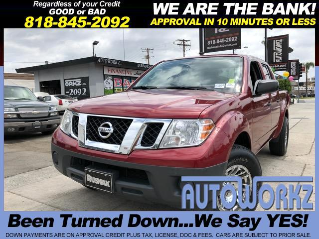 2015 Nissan Frontier XE-V6 Crew Cab 2WD