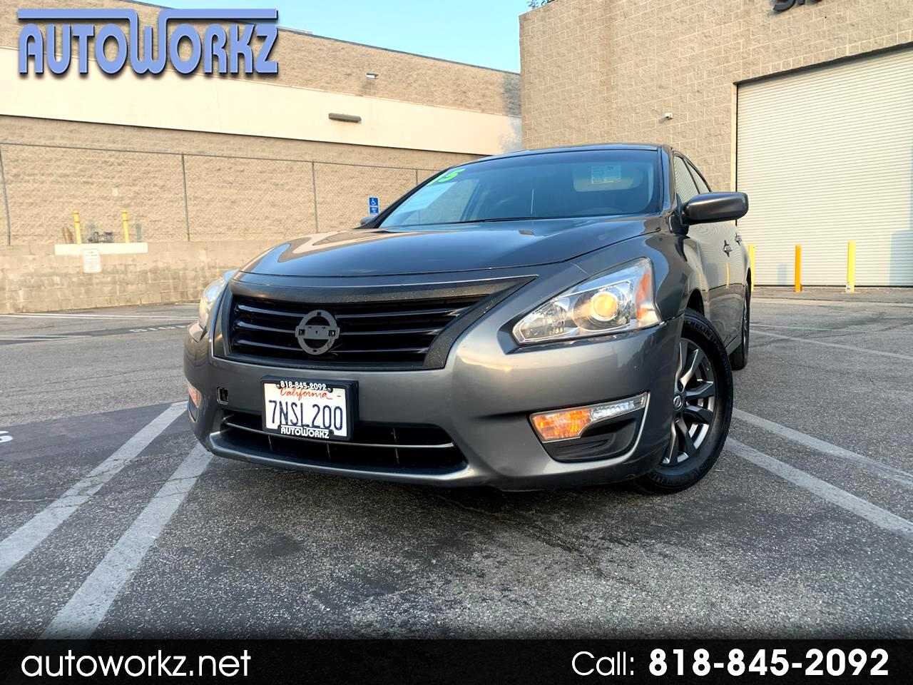 Nissan Altima 4dr Sdn I4 2.5 S 2015