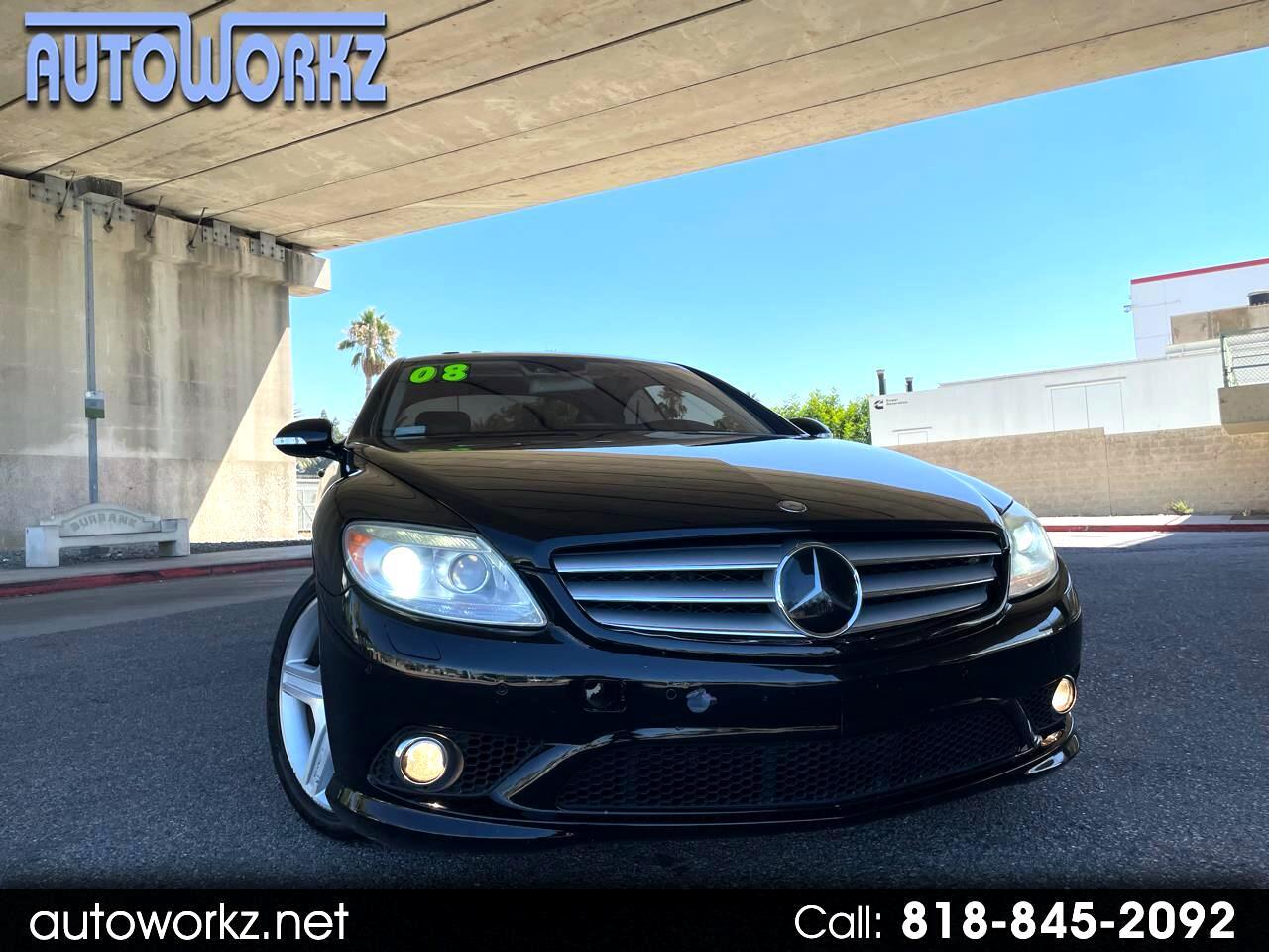 Mercedes-Benz CL-Class 2dr Cpe 5.5L V8 2008