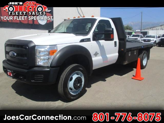 2014 Ford Super Duty F-550 DRW 4WD Reg Cab 141