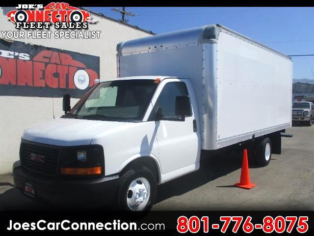"2011 GMC Savana Commercial Cutaway RWD 3500 177"" WB Work Van"