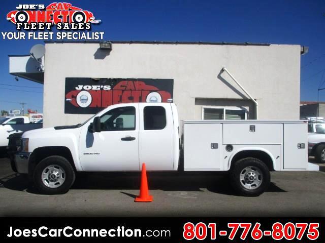 "2013 Chevrolet Silverado 2500HD 4WD Ext Cab 158.2"" Work Truck"